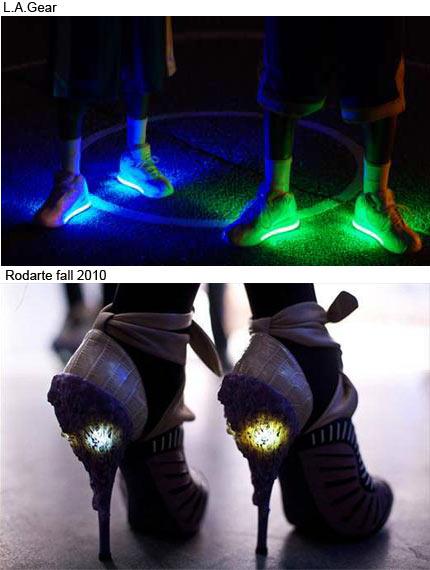 pantofi cu luminite