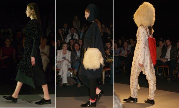 imagini din show-ul de la Cluj Fashion Week