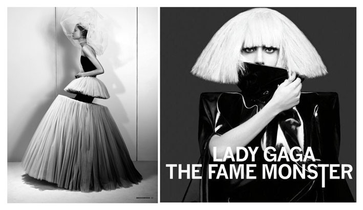 Dazed&Confuzed shot & The Fame Monster cover