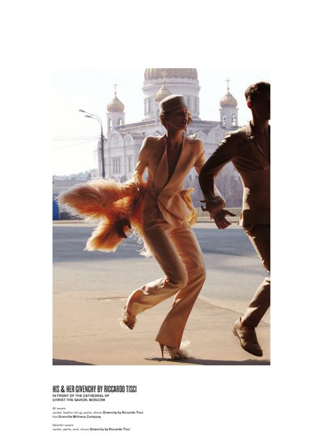 Givenchy in VMagazine, photo Will Davidson