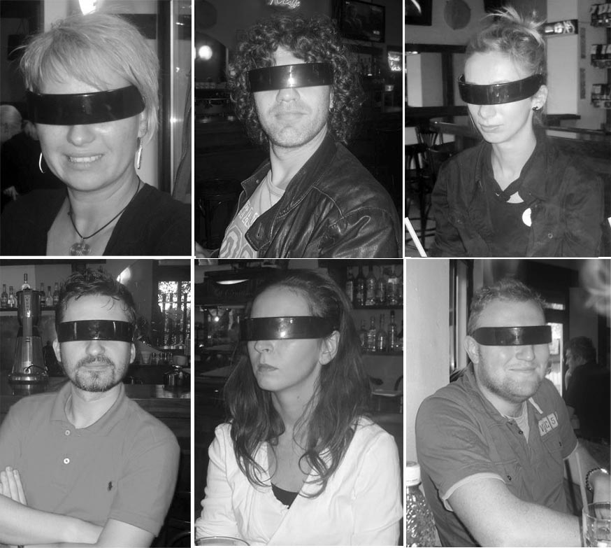me&my friends, wearing fake Incognito sunglasses