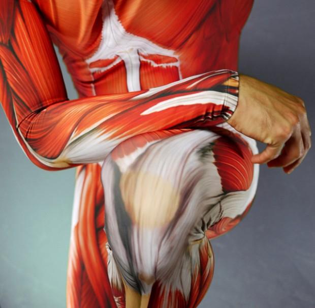 Anatomy skin suit