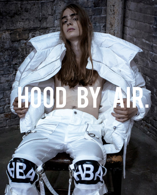 HOOD BY AIR_Fall 14 campaign