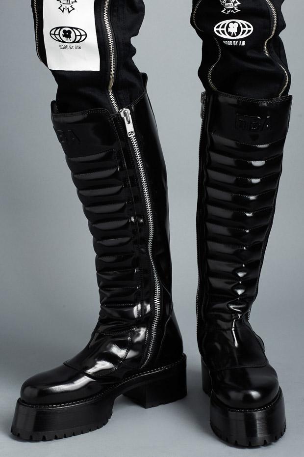 HOOD BY AIR_centaur boots